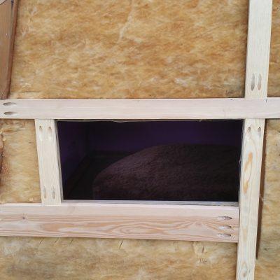 New window framing.